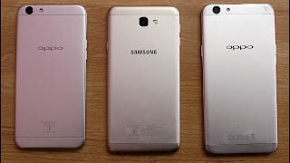 Oppo A57 Vs Oppo F1s Vs Samsung Galaxy J7 Prime Speed Comparison I Hindi