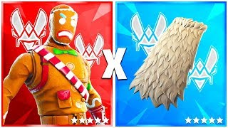 5 COMBO OF SKINS OF PLAYERS PRO on FORTNITE!! #1🔥