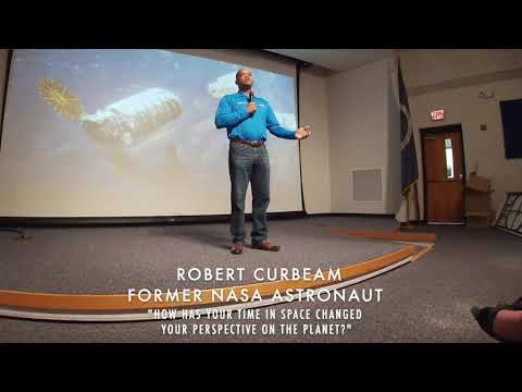 Earth Perspective, by former NASA Astronaut Robert Curbeam