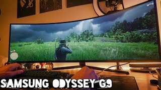 Super Ultrawide Gaming is GLORIOUS - I'm swapping to the Samsung Odyssey G9 49-inch monster monitor