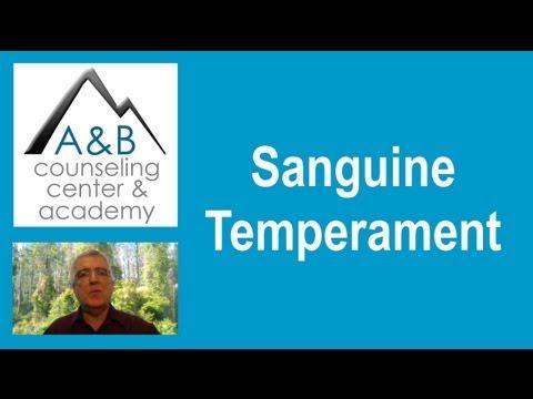 Sanguine Temperament