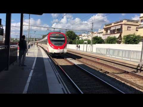 Trains in Catalonia, Spain - October 2016