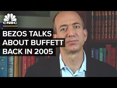 Jeff Bezos' 2005 Interview: Warren Buffett's Advice | CNBC