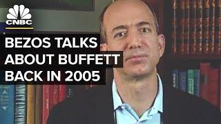 Jeff Bezos' 2005 Interview: Warren Buffett's Advice | CNBC