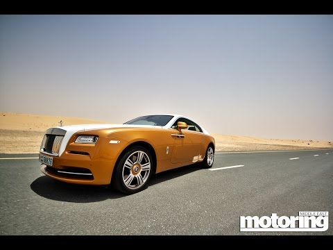 Rolls-Royce Wraith in Dubai - The Aristocrat Express