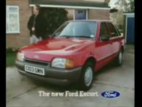 1980's Ford Escort Advert (circa 1986)