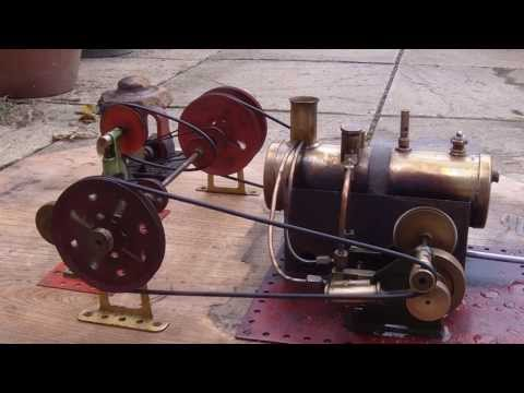 (HD) Mamod SE 4 1937 Geoffrey Malins vintage steam engine