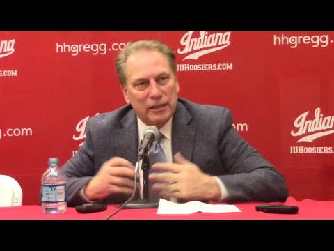 Tom Izzo reacts to loss at Indiana