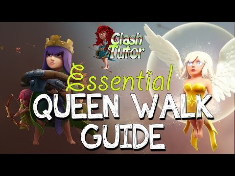 Clash of Clans Essential Queen Walk Queen Healer Guide