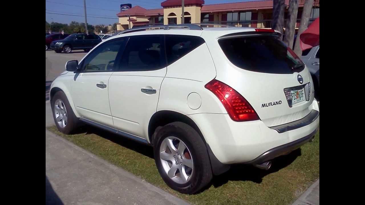2007 Nissan Murano White Clean Beautiful Por Suv Crossover