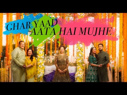 GHAR YAAD AATA HAI MUJHE - Moment that makes  every BRIDE  Cry On The Happiest Day Of Her Life