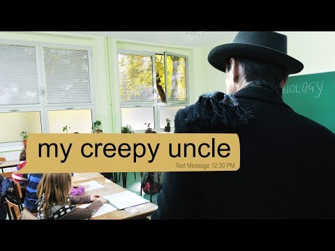 scary text message story MY CREEPY UNCLE