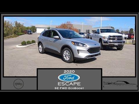 2020-ford-escape-se-fwd walk-around-video in-depth-review