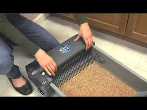 SmartScoop Self-Scooping Cat Litter Box