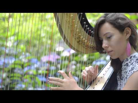 ♫ DIETRO CASA - Ludovico Einaudi by Hazel Engels on the harp