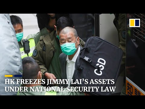Assets of jailed media tycoon Jimmy Lai frozen under Hong Kong's national security law