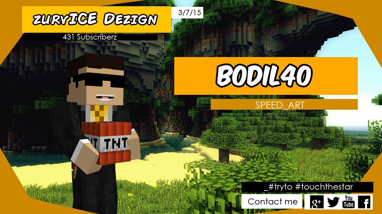 [SpeedBannerArt] Bodil40 - YouTube