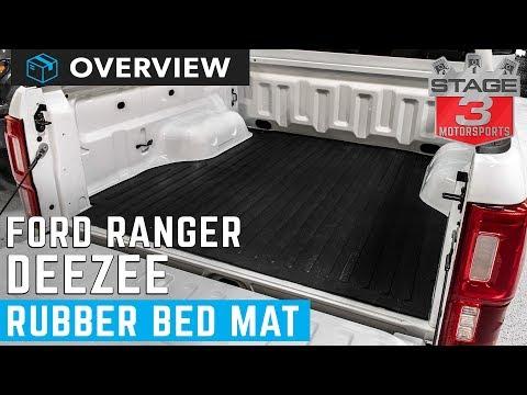 2019 Ranger DeeZee Rubber Bed Mat Overview
