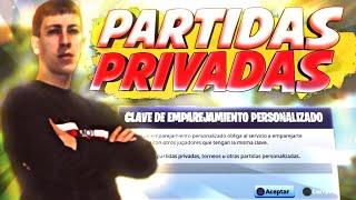 ✔JUGANDO *PARTIDAS PRIVADAS* EN *DIRECTO FORTNITE* SI GANAS TIENES PREMIO* ESTA PASANDO EVENTO HOY!