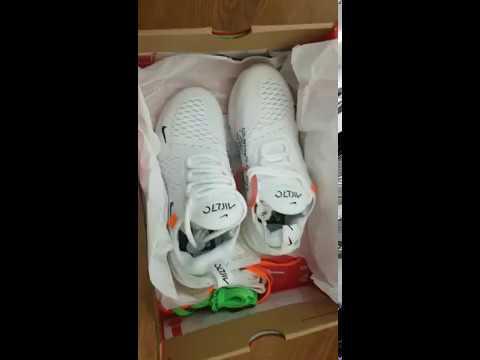 4762a3bda Off White Nike Air Max 270 - YouTube