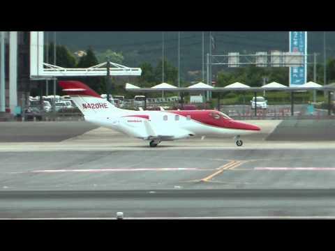 熊本空港 HONDA AIRCRAFT COMPANY HA-420 HONDAJET N420HE