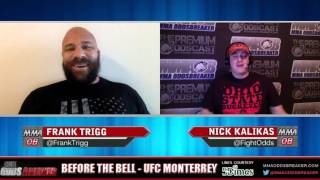 Before the Bell with Nick Kalikas and Frank Trigg  - UFC Monterrey