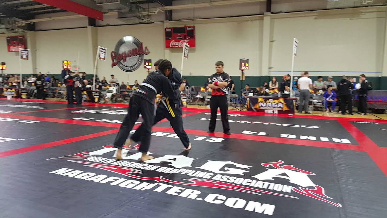 North American grappling Association tournament Houston Texas first place  match