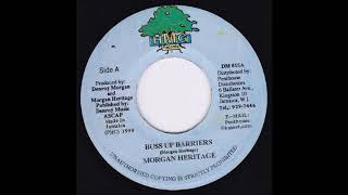 Gambar cover Buss Up Barriers riddim Mix (1999) Morgan Heritage,Buju Banton,Capleton,Jah Cure & More (HMG)