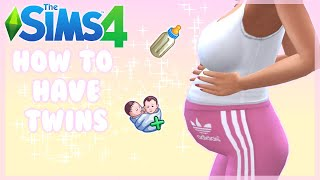How to have twins in the Sims 4 without cheats or mods