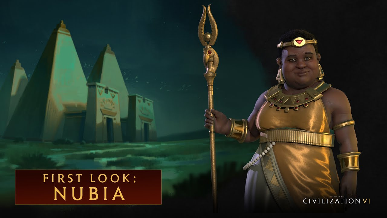 The Nubians are coming to Civilization VI