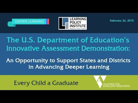 The U.S. Department of Education's Innovative Assessment Demonstration