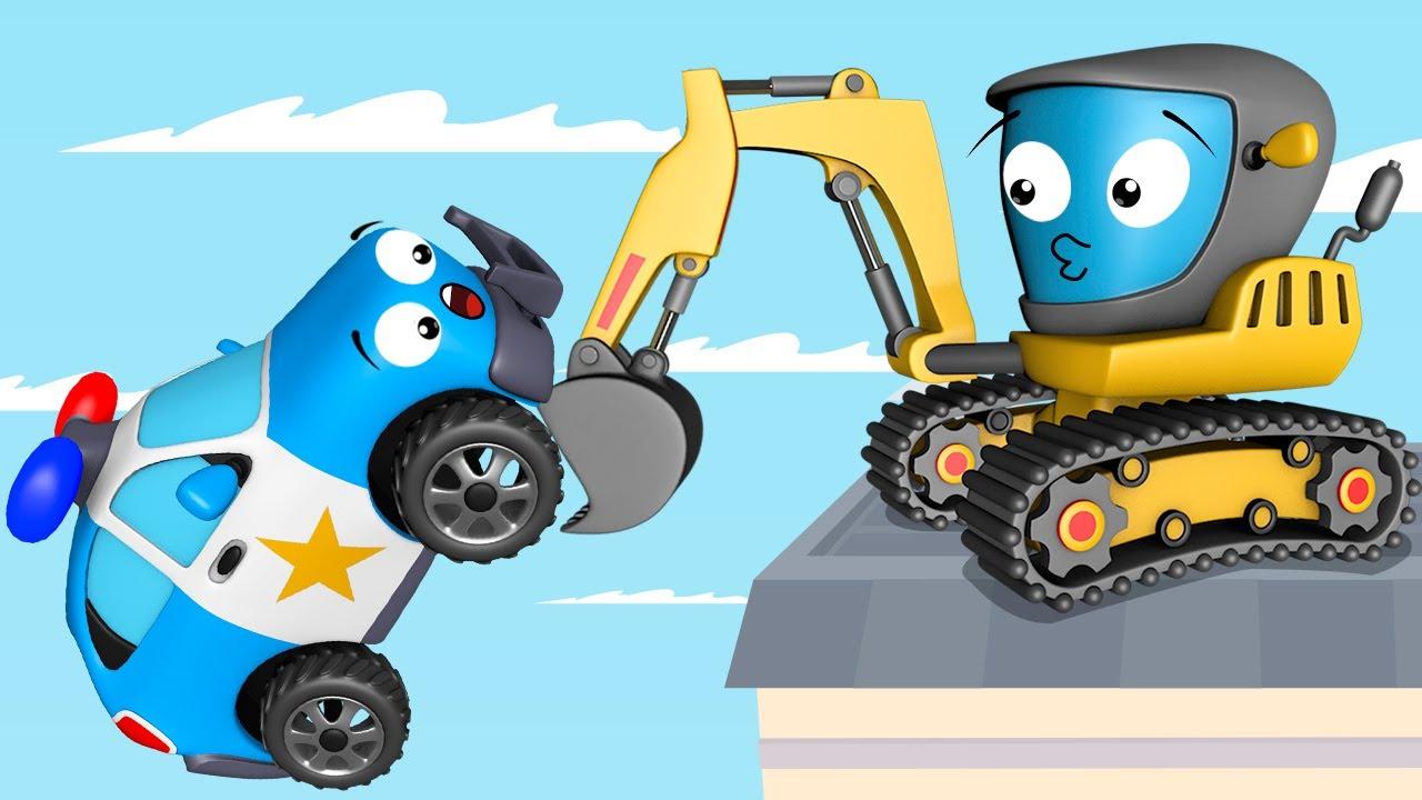 Coches infantiles carritos para ni os excavadora y - Dibujos pared habitacion infantil ...