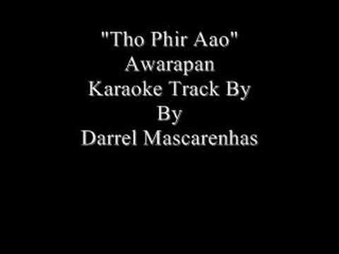 Tho Phir Aao Karaoke By Darrel Mascarenhas