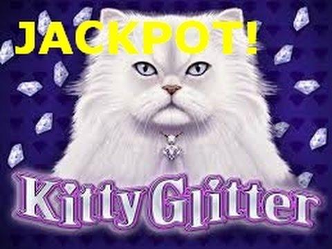 HANDPAY JACKPOT TAX FREE IGT Kitty Glitter Big Win Free Spin Bonus slot machine