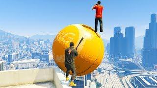 GTA 5 Funny Ragdolls   Jumping Fails 11