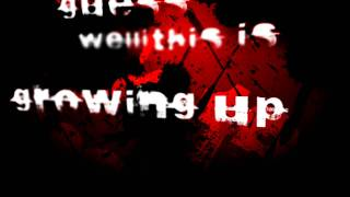 "Kinetic Typography - Blink182 - ""Dammit"" (growing up) HD"