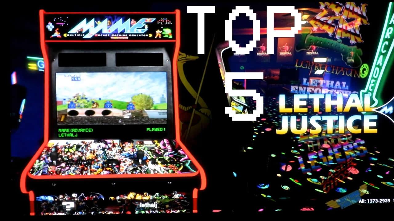 Top 5 Light Gun Games for Pi Arcade - YouTube