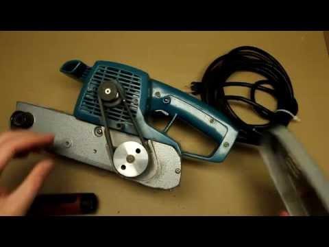 Makita Belt Sander 9924DB Teardown And Repair