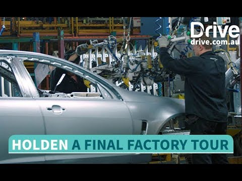 Behind the scenes: A Final Factory Tour With Holden | Drive com au