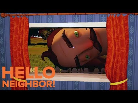 Hello Neighbor 'The Wrong Move' Gameplay First Look (2017) Horror Survival HD thumbnail