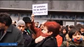 No a la criminalización de la protesta (Bilbao, 20-12-2014)