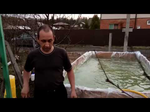 Вода в бассейне ржавеет. Как понизить высокий уровень железа в воде из скважины?  (Часть. 1)
