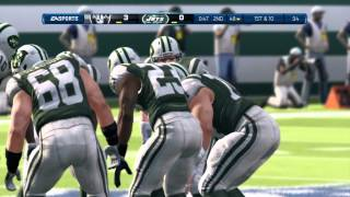 Madden NFL 13 Gameplay (PS3) - Oakland Raiders vs New York Jets