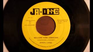 Denzil Laing / Welcome Home Jamaicans ---(Ja Disc)
