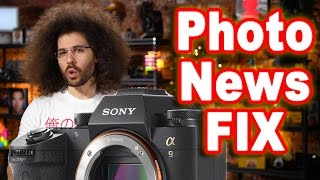 PHOTO NEWS FIX: SONY Unleashes the $4,500 A9, CANON Charges $99 For Firmware & FUJI Goes Hybrid