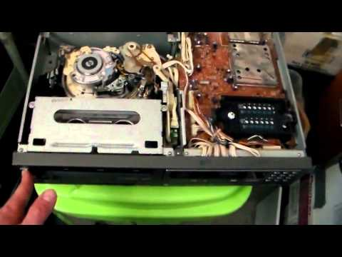 how to fix sanyo vhs da4 head