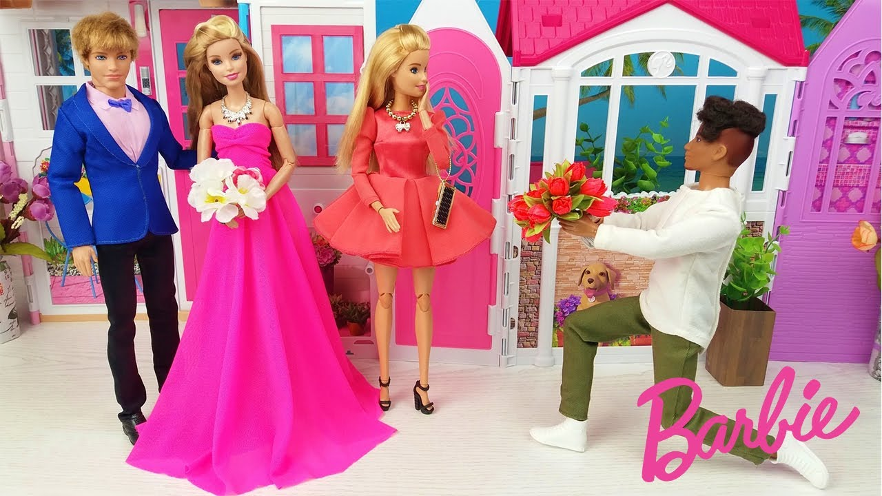 Barbie Dreamhouse Adventures Two Barbie Two Ken Morning Routine