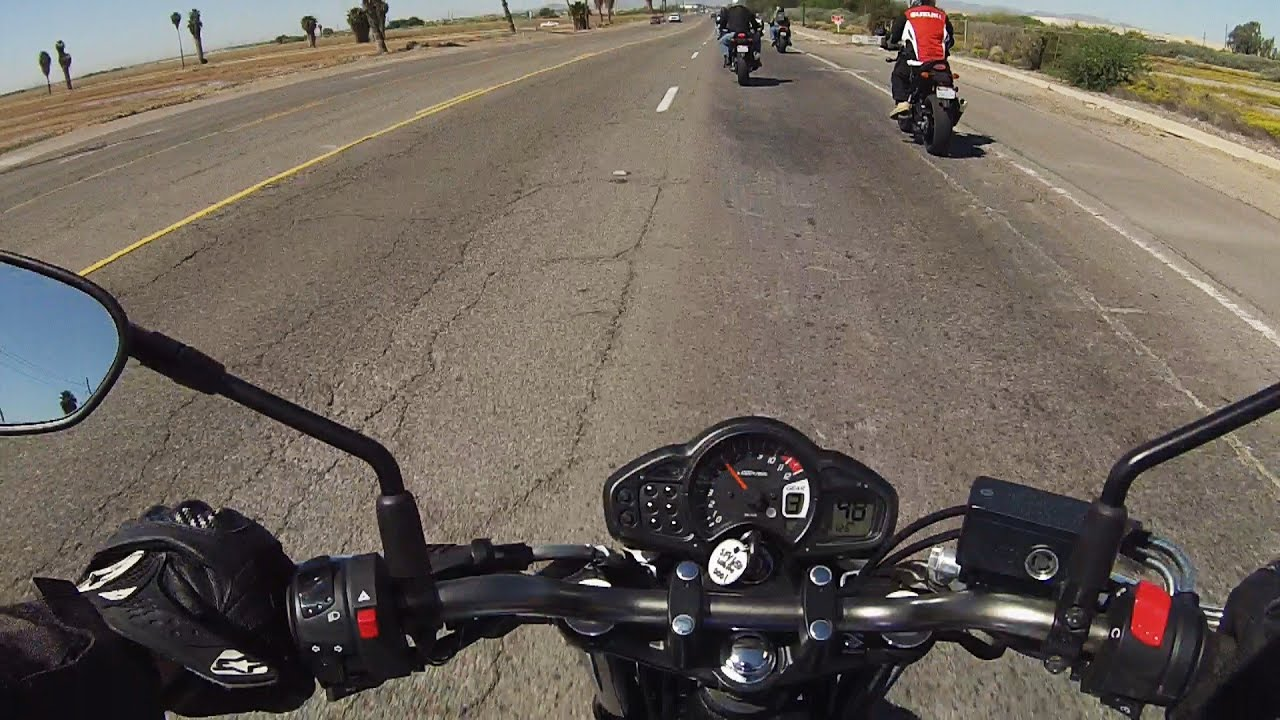 2015 suzuki sfv650 test ride review youtube