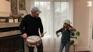 Listen to TSO Principal Percussion Charles Settle and kids celebrate baseball season opening day
