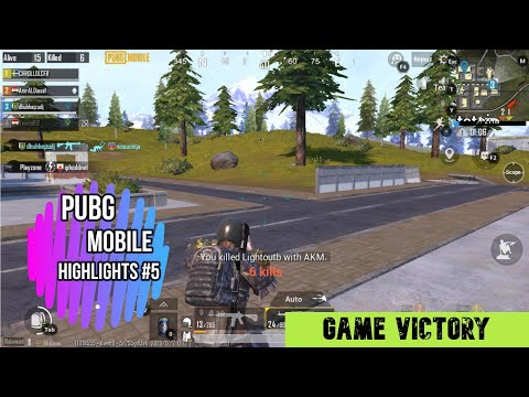 Pubg Mobile Highlights #5 by Game Victory